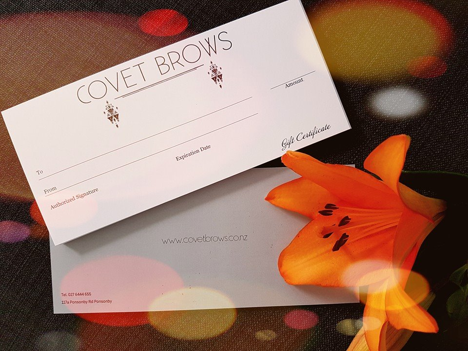 Gift Vouchers for Micropigmentation, brow tattoo, eyeliner tattoo