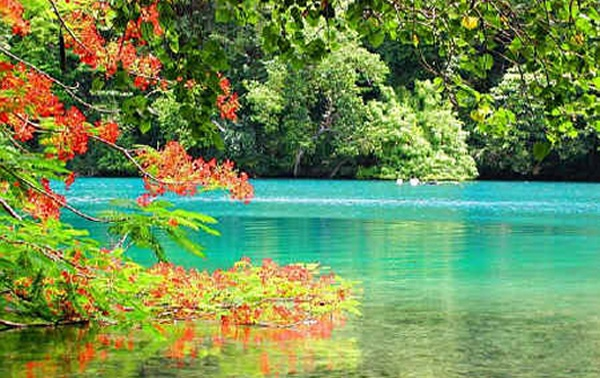 Tour Jamaica Today Blue Lagoon At Portland Jamaica