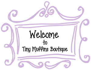 Tiny Muffins - a super cute and fashionable baby clothing boutique.