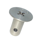 Flush Head, Phillips, #5 Series A-Spec Studs, Stainless (Airloc� compatible)