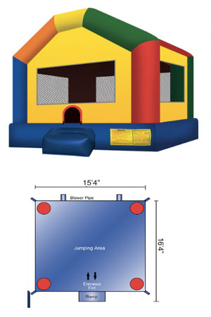 Ninja Jumper Fun House