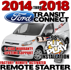 FORD TRANSIT CONNECT PLUG PLAY REMOTE STARTER