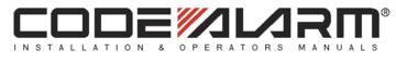 CODE ALARM INSTALLATION AND OPERATORS MANUALS
