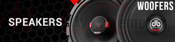 DB DRIVE WOOFER SPEAKERS