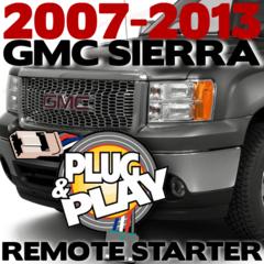 2007-2013 GMC SIERRA Plug n Play Remote Starter Kits