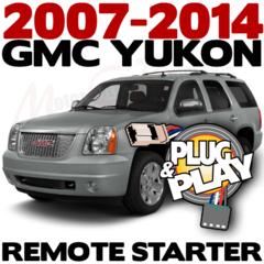 2007-2014 GMC YUKON DENALI Plug n Play Remote Starter Kits