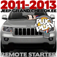 2013 JEEP GRAND CHEROKEE VEHICLE SPECIFIC REMOTE STARTER