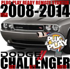2014 DODGE CHALLENGER PLUG N PLAY REMOTE STARTERS