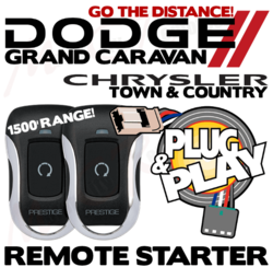 Dodge Caravan Chrysler Town Country Plug Play Remote Starters