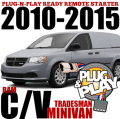 Dodge RAM CV Minivan Plug and Play Remote Starters