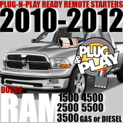 Dodge RAM Pickups Plug and Play Remote Starter Kits