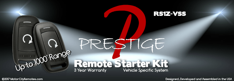 Prestige ASPRS1Z Vehicle Specific Ready Remote Starter Kit