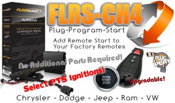The Flashlogic FLRSCH4 Plug Play Remote Starter