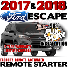 FORD 2017 2018 ESCAPE PLUG AND PLAY REMOTE STARTER