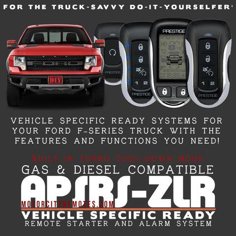 Ford F-Series Pickups Remote Starter