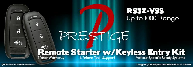 Prestige APSRS3Z-VSS Remote Start with Keyless Entry System