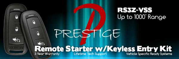 Prestige APSRS3Z Remote Starter