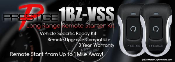 Voxx 1BZLR-VSS High-Performance Vehicle Specific Ready Remote Starter Kit