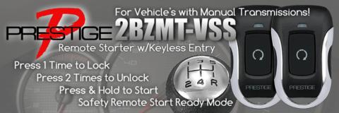 Manual Transmission Remote Starters