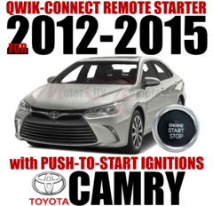 TOYOTA CAMRY PUSH-TO-START PLUG AND PLAY REMOTE STARTER