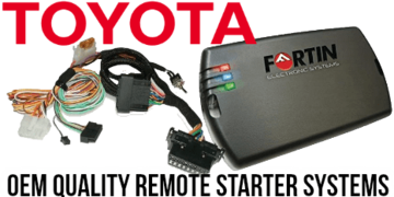 DIY Toyota Plug and Play Remote Starter Kits