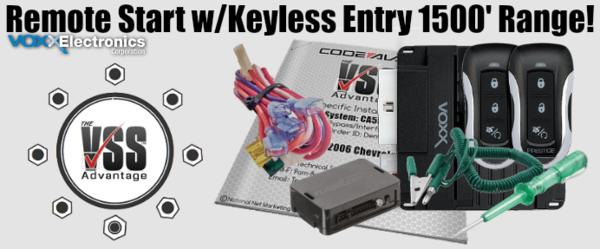 Prestige APS57Z-VSS DIY Remote Starter with Keyless Entry Kit