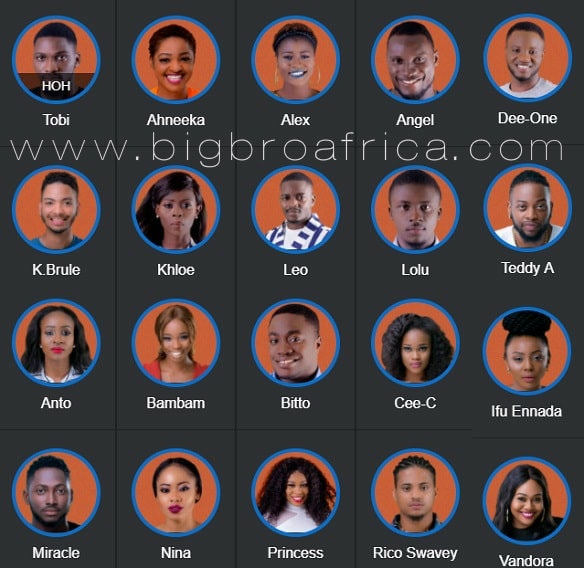 Uganda Online - Big Brother Africa-BBNaija Highlights, News, Photos