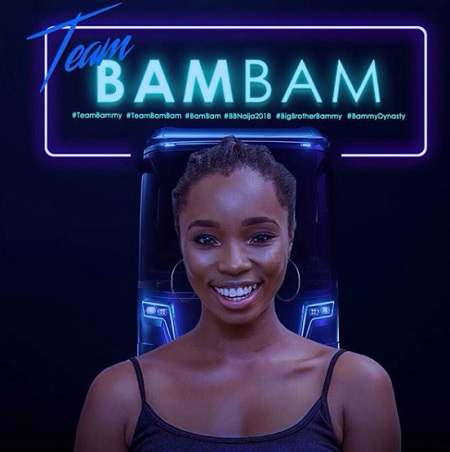 Bamike Olawunmi aka Bam Bam, Big Brother Naija housemate 2018
