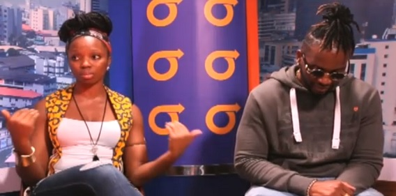 Bambam explaining her journey in the Big Brother Naija house