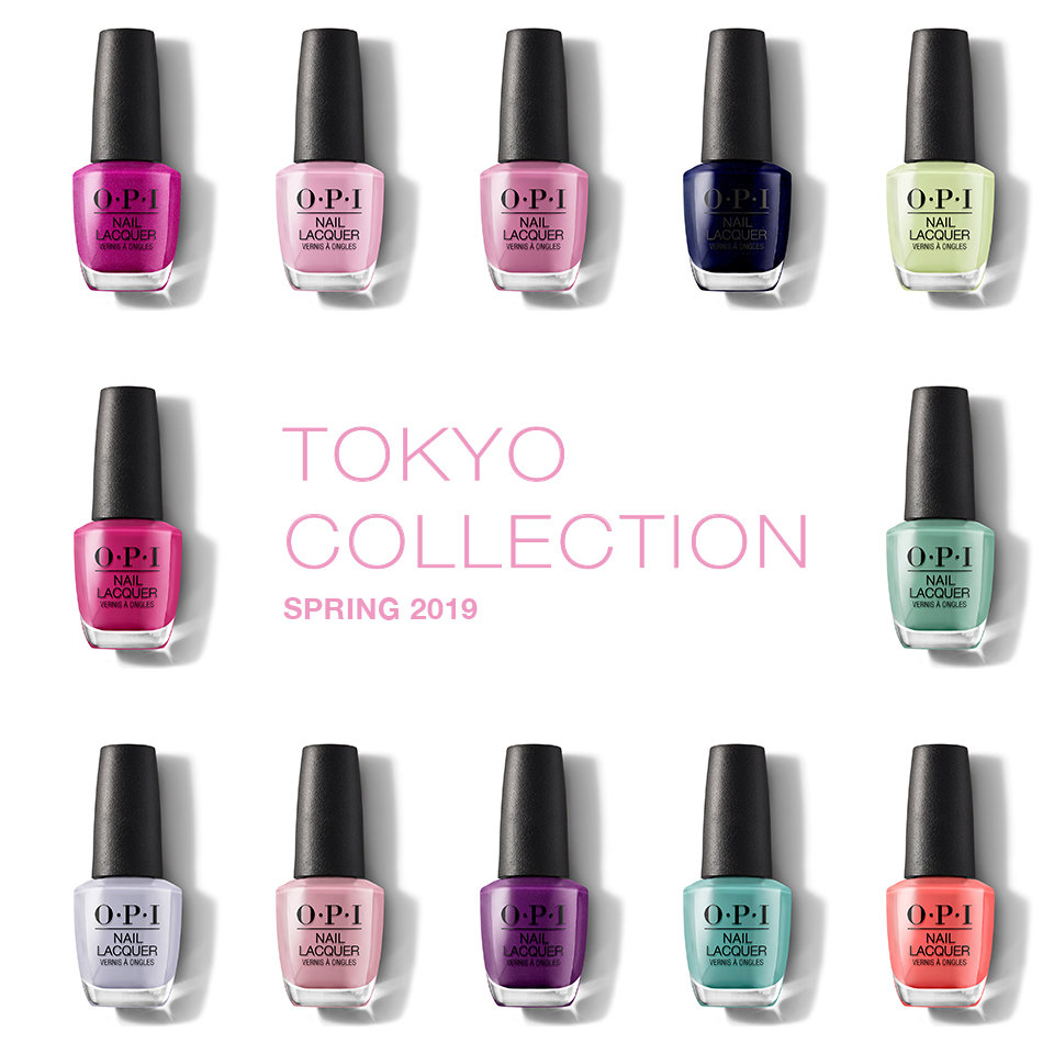 OPI 2019 TOKYO - SPRING COLLECTION