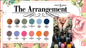 CHINA GLAZE 2019 THE ARRANGEMENT