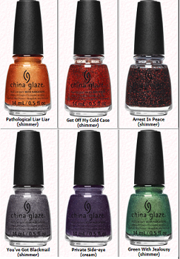 CHINA GLAZE CATCH A COLOUR 2109 HALLOWEEN COLLECTION