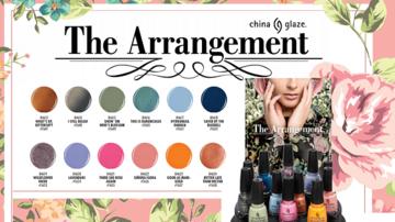 China Glaze Fall 2018 The Arrangement