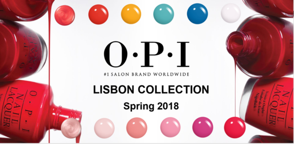OPI 2018 SPRING COLLECTION - LISBON
