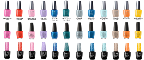 OPI 2017 SPRING COLOR COLLECTION - FIJI