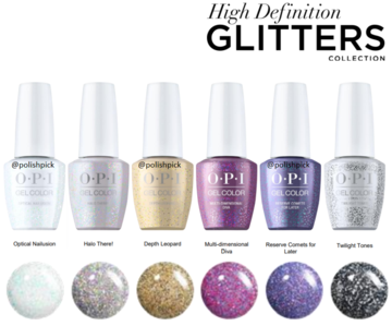 OPI New High Definition Glitter Grelcolor
