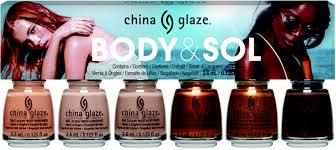 China Glaze Body & Sol