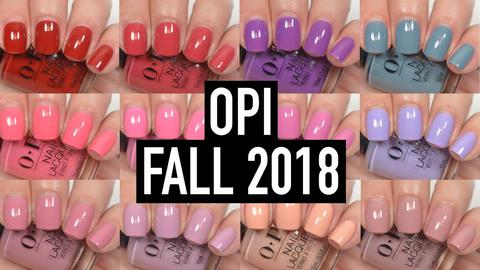 OPI Fall 2018 Peru Collection