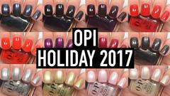 OPI 2017 Holiday XOXO