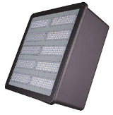 LED parking lot lighting fixture