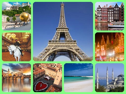 Cheap, Discounted, Low Cost European Holidays Holiday Deals, Short Breaks,Getaways & Vacations To Europe