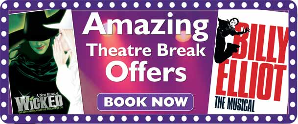 London Theatre Breaks & West End Shows By Train/Rail