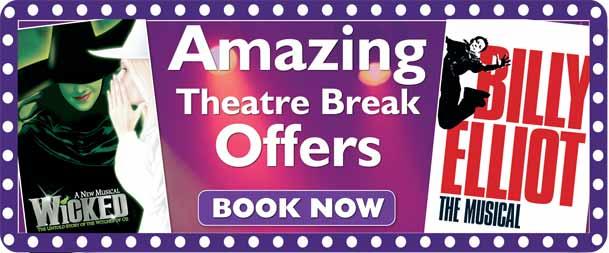 London Theatre Breaks & West End Shows By Train/Rail