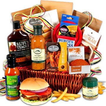 Grilling Greatness BBQ Gift Basket