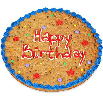 Inch Cookie Cake Serves How Many