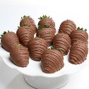 Milk Chocolate Covered Strawberries