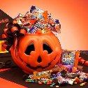 Halloween Candy Cake