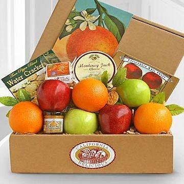 California Fruit & Snack Gift Box
