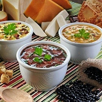 International Soups Sampler