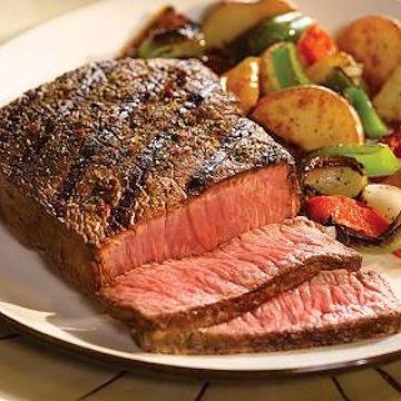 Send the perfect top sirloin steak